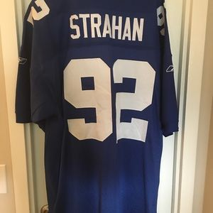 reputable site 2e8a8 74414 💫 #tbt Authentic NY Giants Michael Strahan Jersey